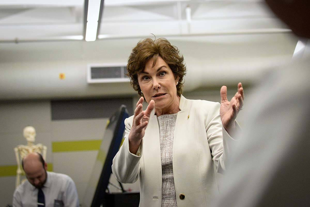 Sen. Jacky Rosen, D-Nev., said rural hospitals treat a higher percentage of patients with Medic ...