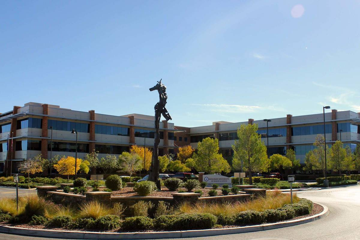 The College of Medicine will be based on Roseman University's Summerlin campus. (Roseman Univer ...
