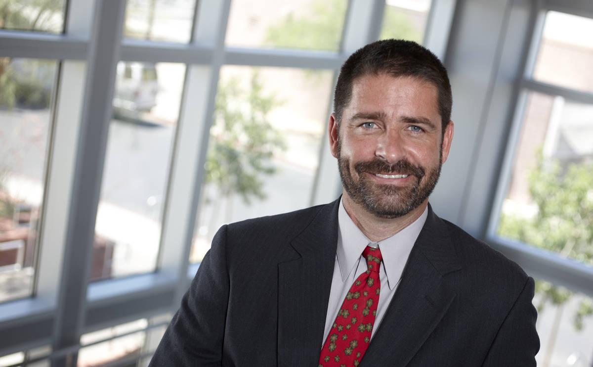 UNLV Photo Services / R. Marsh Starks Ian Bartrum, Boyd School of Law, professor of law and ass ...