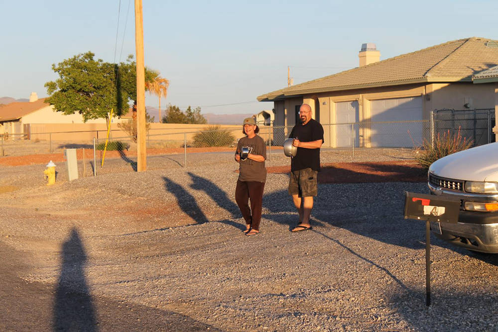 Special to the Pahrump Valley Times Bill Newyear's neighborhood was full of the ringing sounds ...