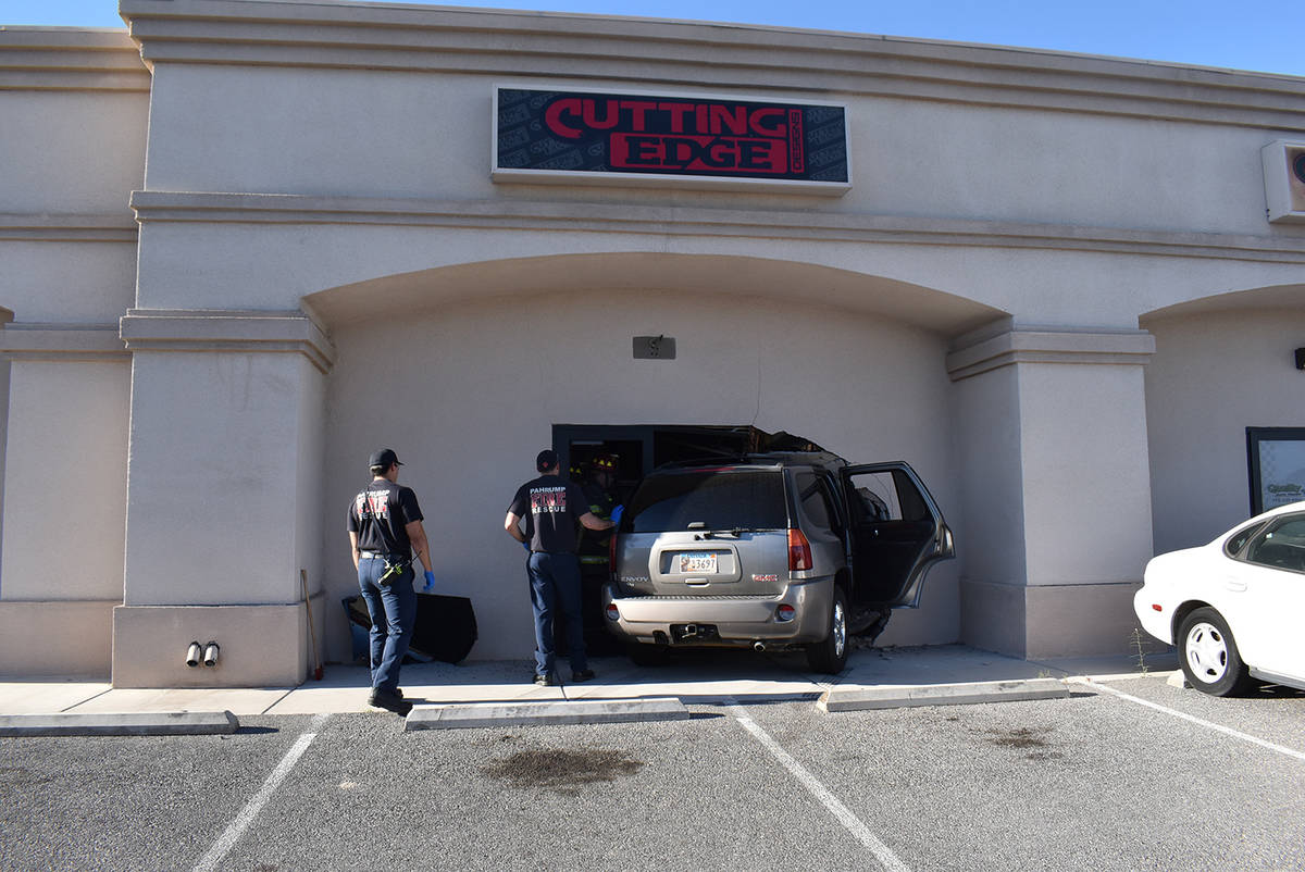 Special to the Pahrump Valley Times On April 28, fire crews were dispatched to the 2300 block o ...