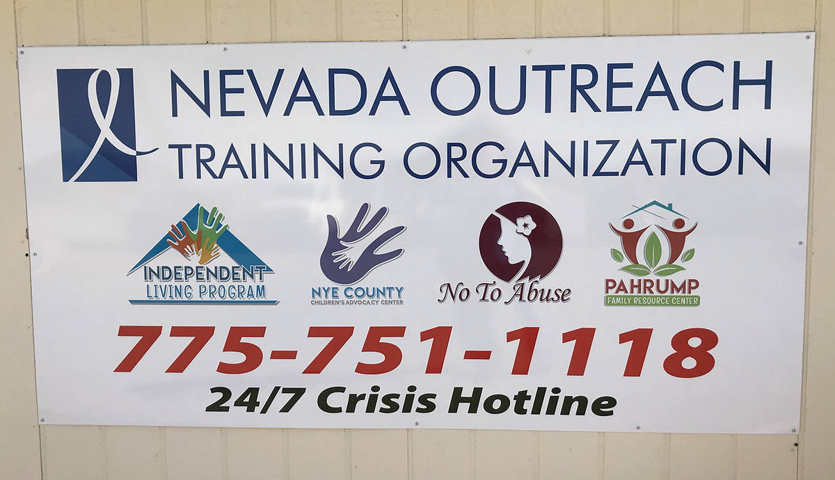 Robin Hebrock/Pahrump Valley Times The Nevada Outreach Training Organization operates a variety ...