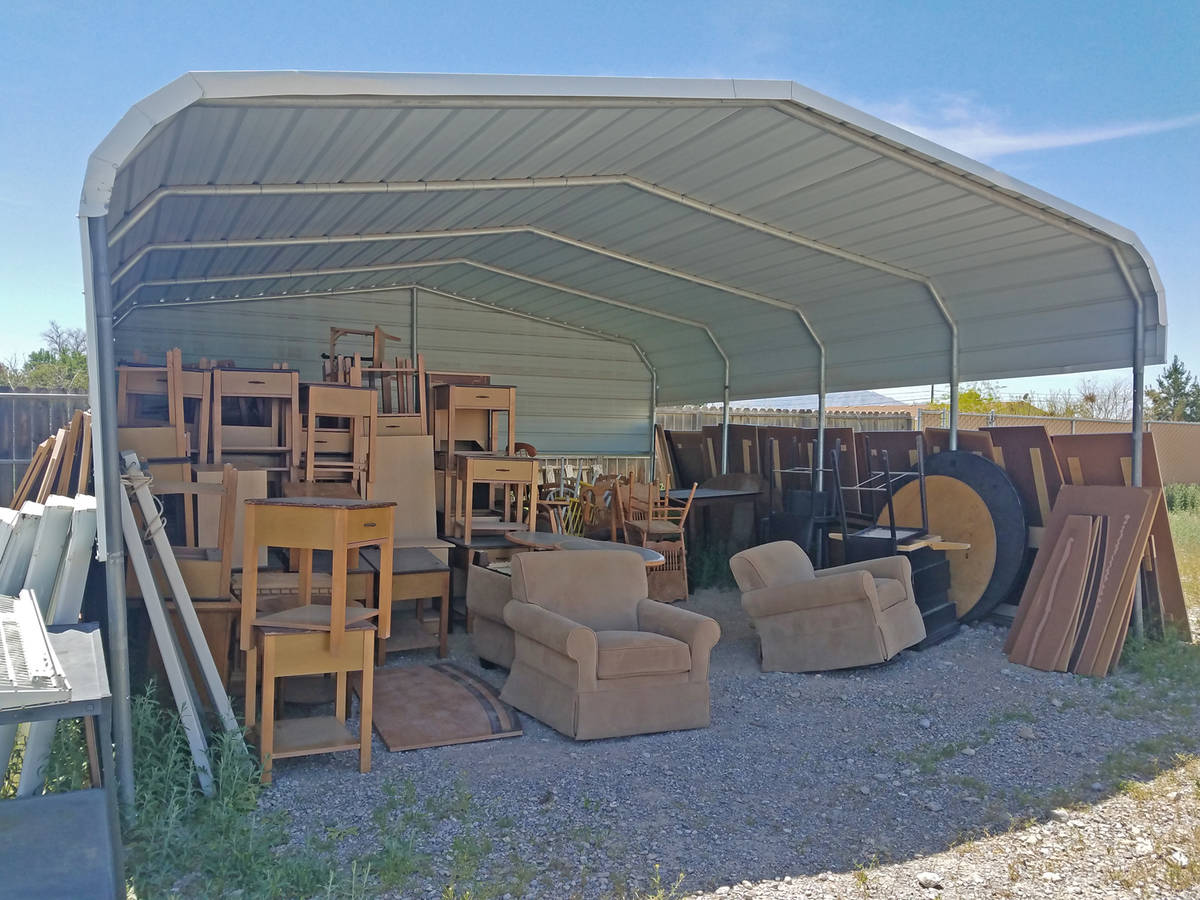 Special to the Pahrump Valley Times Furniture is a very expensive part of creating a home and t ...