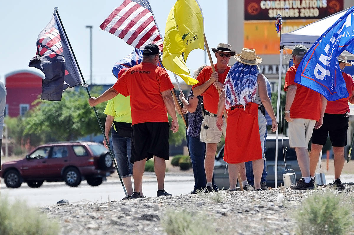 Horace Langford Jr./Pahrump Valley Times Another Reopen Nevada rally is set for Saturday, May 2 ...