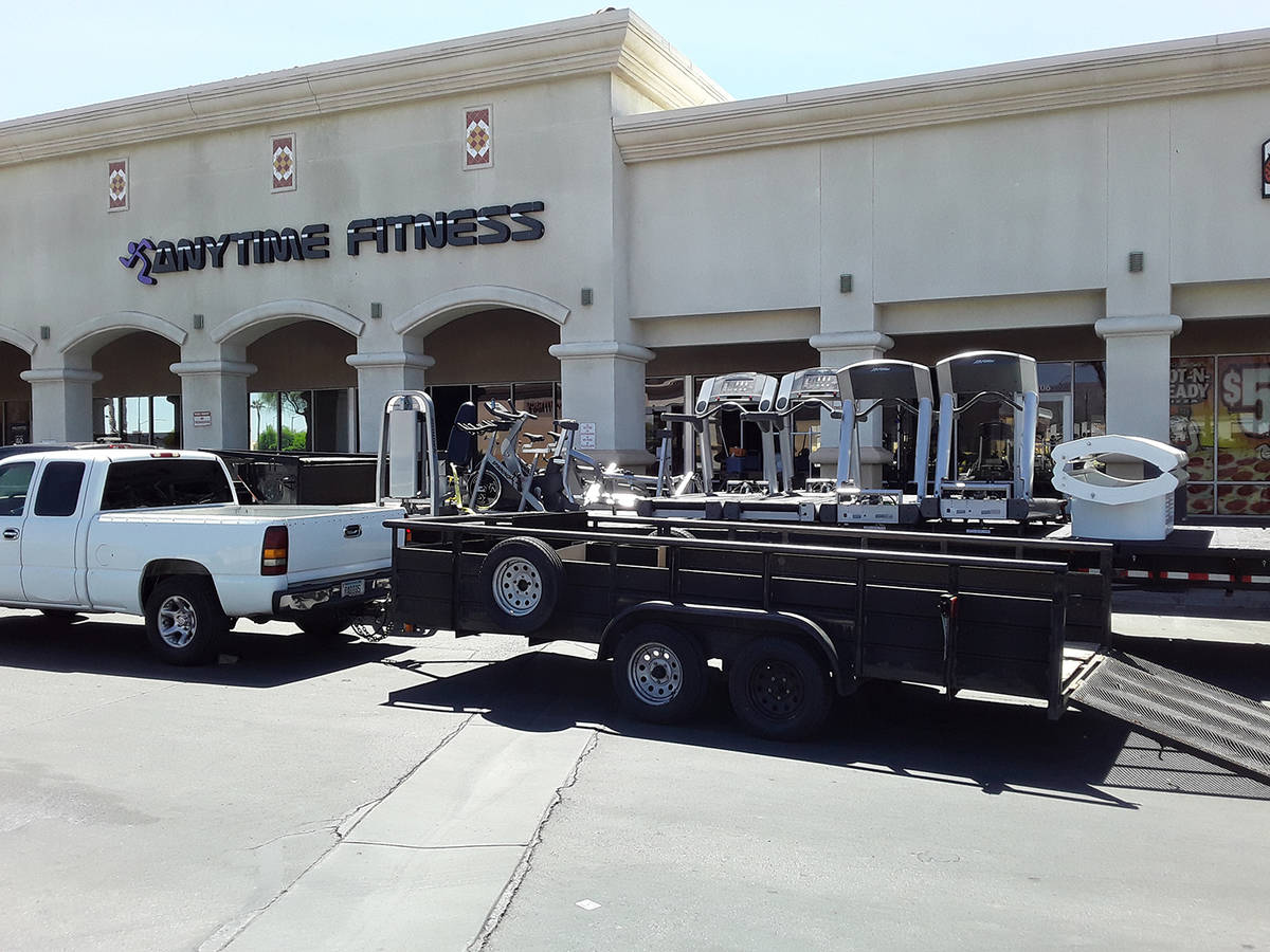 Selwyn Harris/Pahrump Valley Times Anytime Fitness, located at 70 South Highway 160, permanentl ...