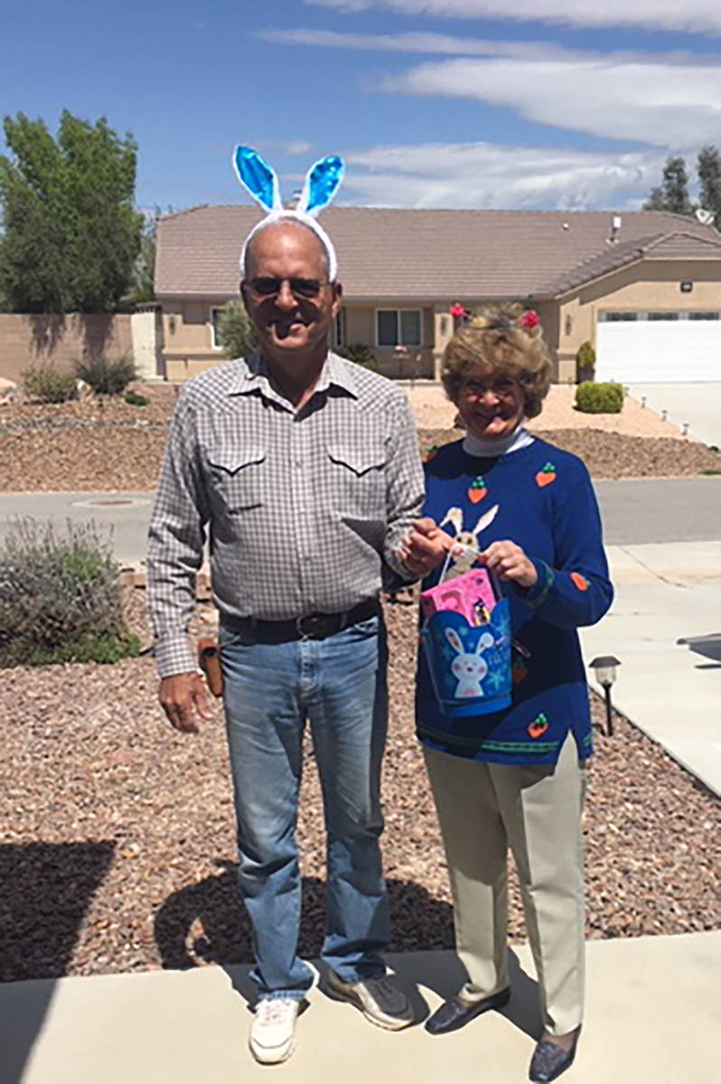 Special to the Pahrump Valley Times John Porn, at left, was said to have thought his wife Janet ...