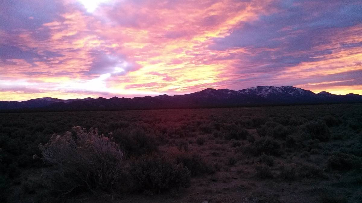 Dan Simmons/Special to the Pahrump Valley Times We now have the time to get away to the natural ...