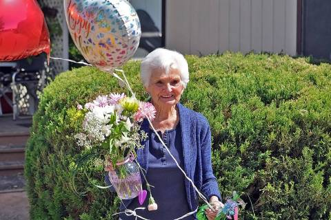 Horace Langford Jr./Pahrump Valley Times Ms. Senior Golden Years Pageant founder BJ Hetrick-Irw ...