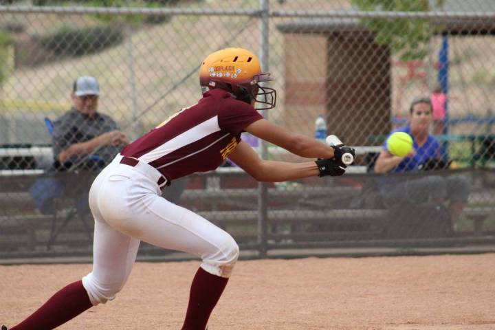 Cassondra Lauver/Special to the Pahrump Valley Times When an injury pushed Ashliegh Murphy to t ...