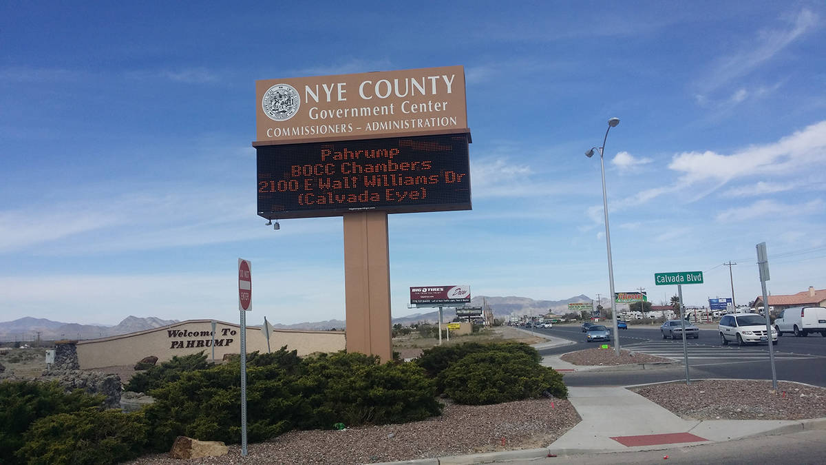 David Jacobs/Pahrump Valley Times Gov. Sisolak's phase one reopening plan can be viewed onlin ...
