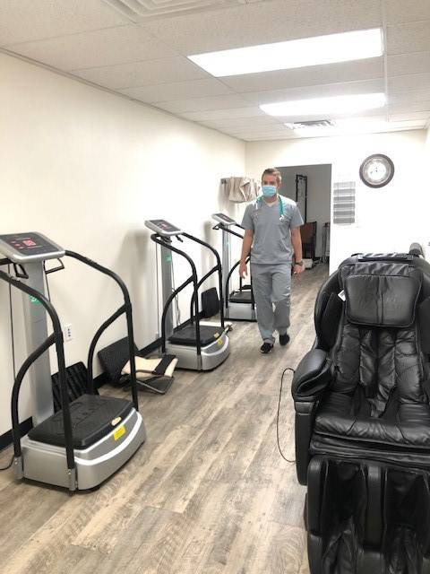 Levi Rogers/Special to the Pahrump Valley Times Patients will not find the office as bustling a ...