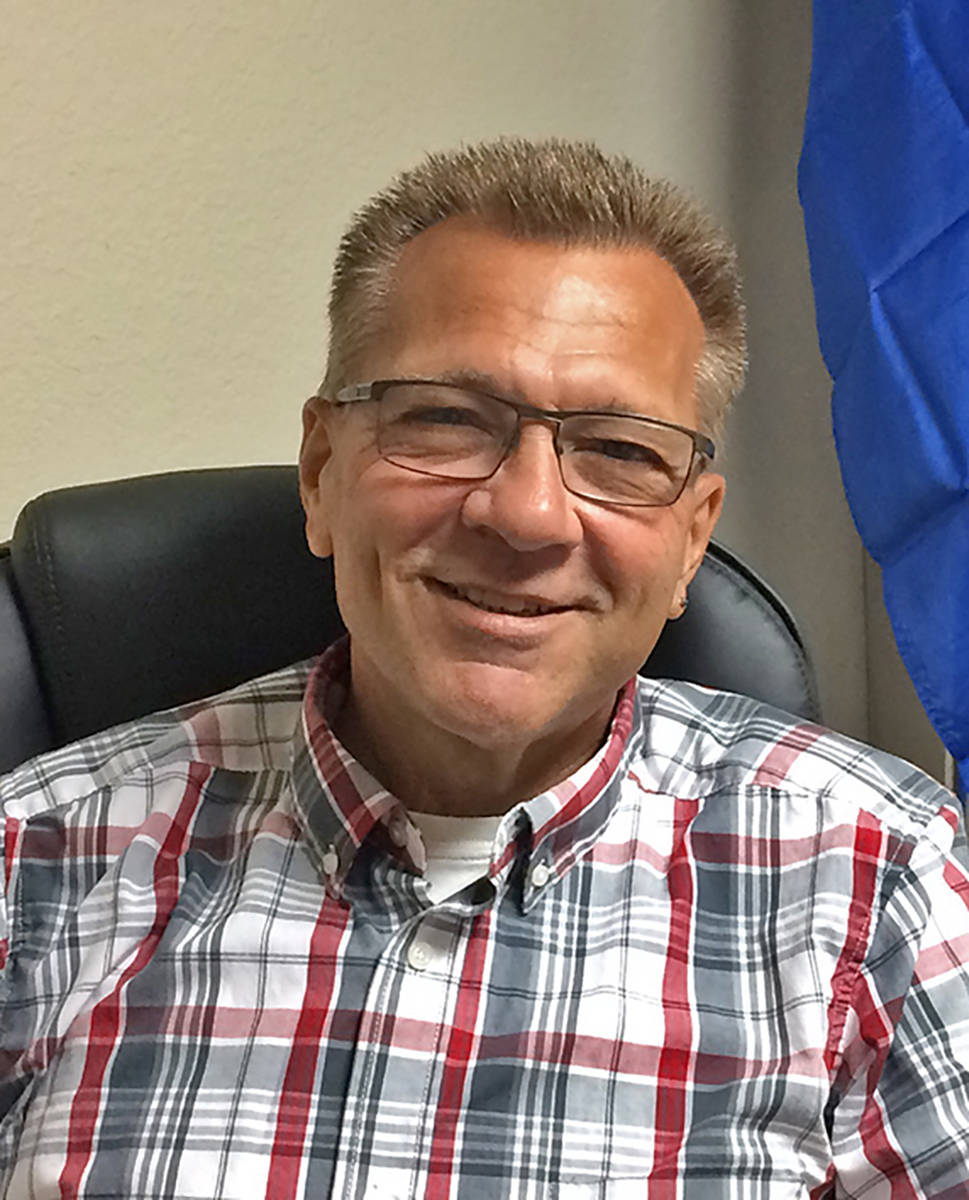 Robin Hebrock/Pahrump Valley Times Dr. Joseph Bradley