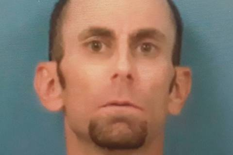 Special to the Pahrump Valley Times Pahrump resident Joseph Cavalieri, 41, was arrested for all ...