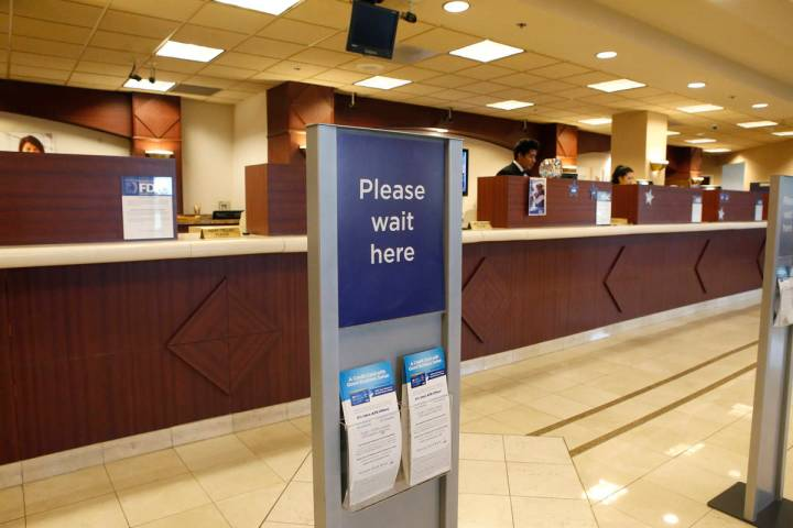 Christian K. Lee/Las Vegas Review-Journal Under existing law, federal regulators prohibit fina ...