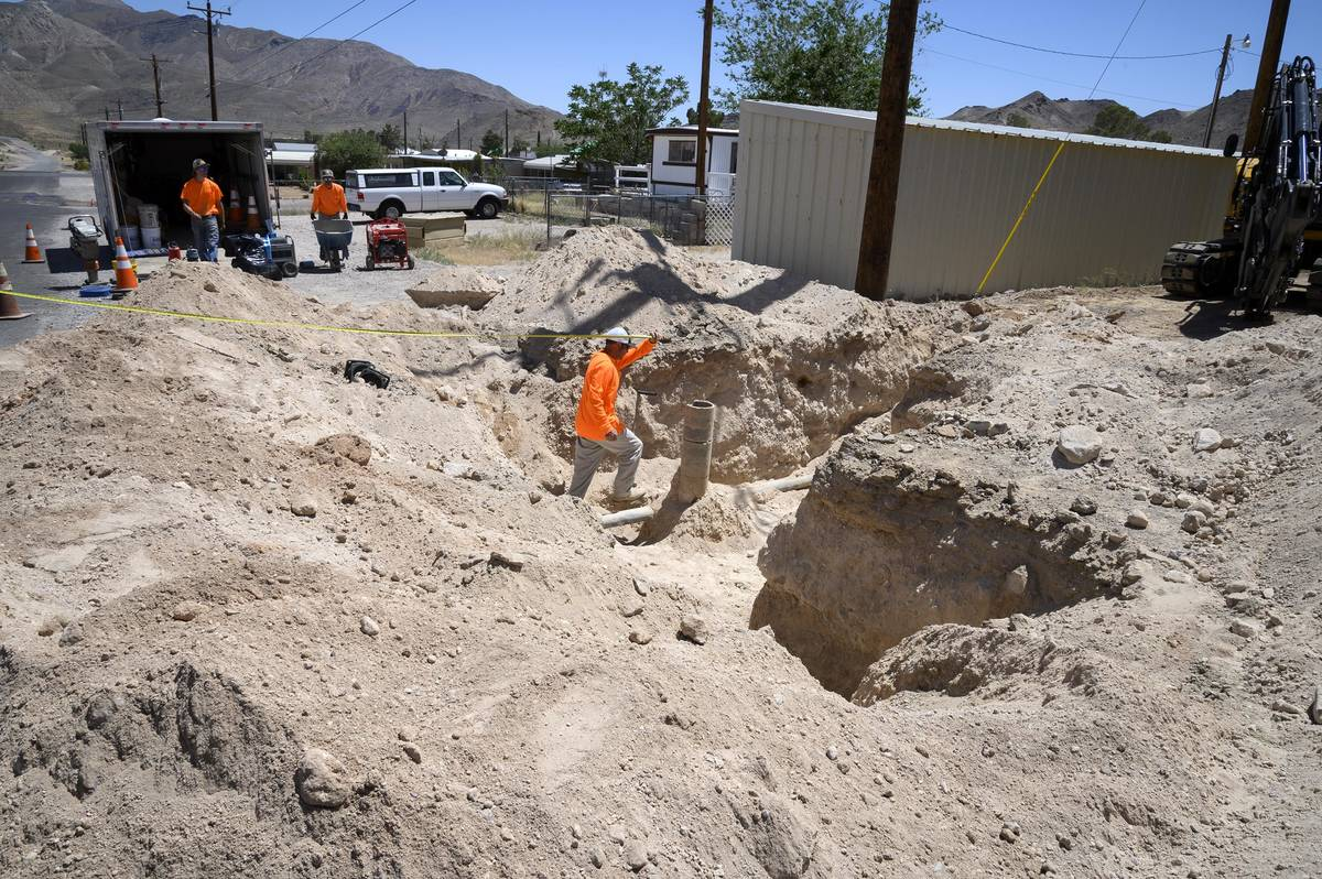 Richard Stephens/Special to the Pahrump Valley Times The failure of the valves, and the need t ...