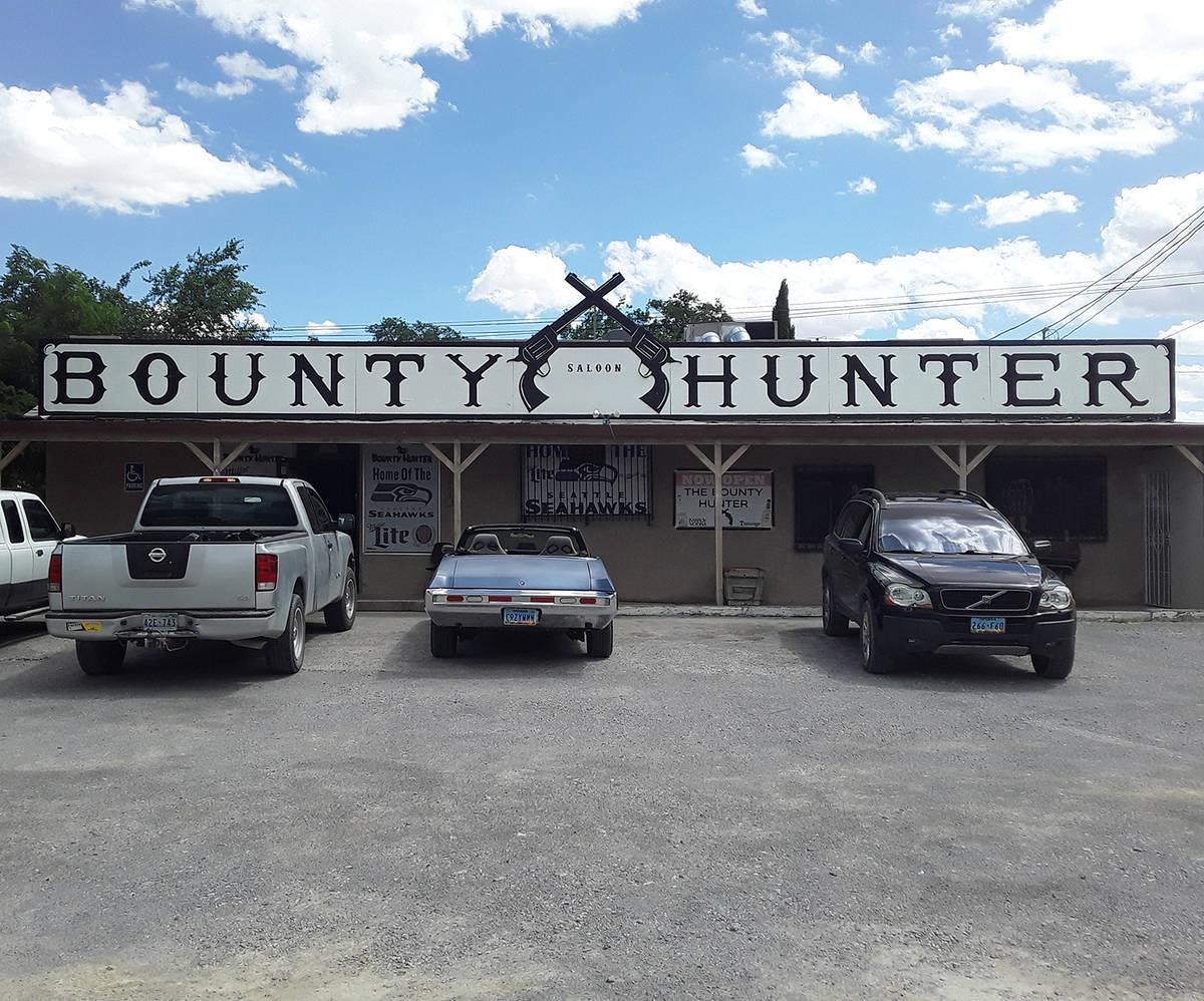 Selwyn Harris/Pahrump Valley Times The Bounty Hunter Saloon at 680 East Street is seeking donat ...