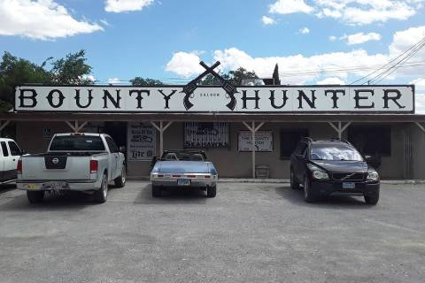 Selwyn Harris/Pahrump Valley Times The Bounty Hunter Saloon at 680 East Street is seeking donat ...