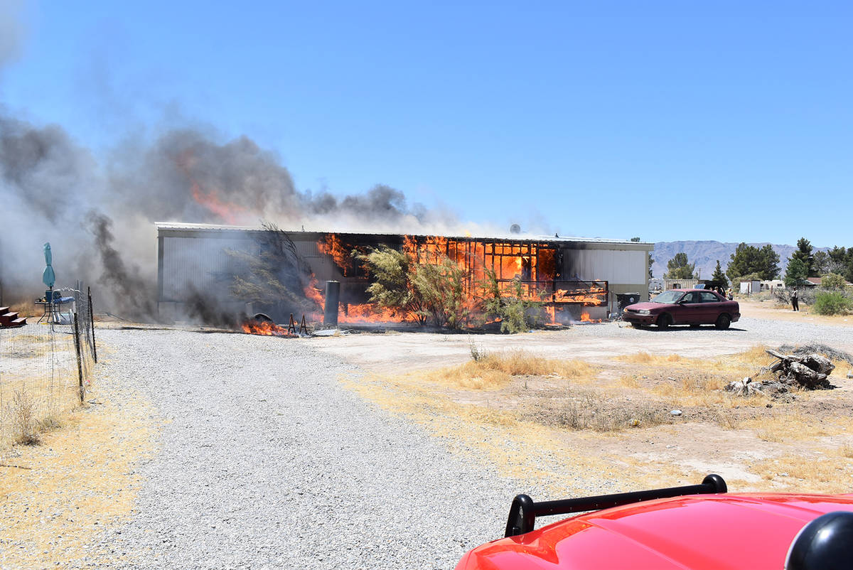 Special to the Pahrump Valley Times On May 24th fire crews were dispatched to the 1100 block of ...