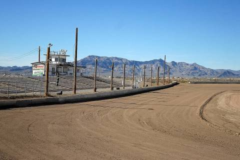 Horace Langford Jr./Pahrump Valley Times Pahrump Valley Speedway off of East Basin Avenue has b ...