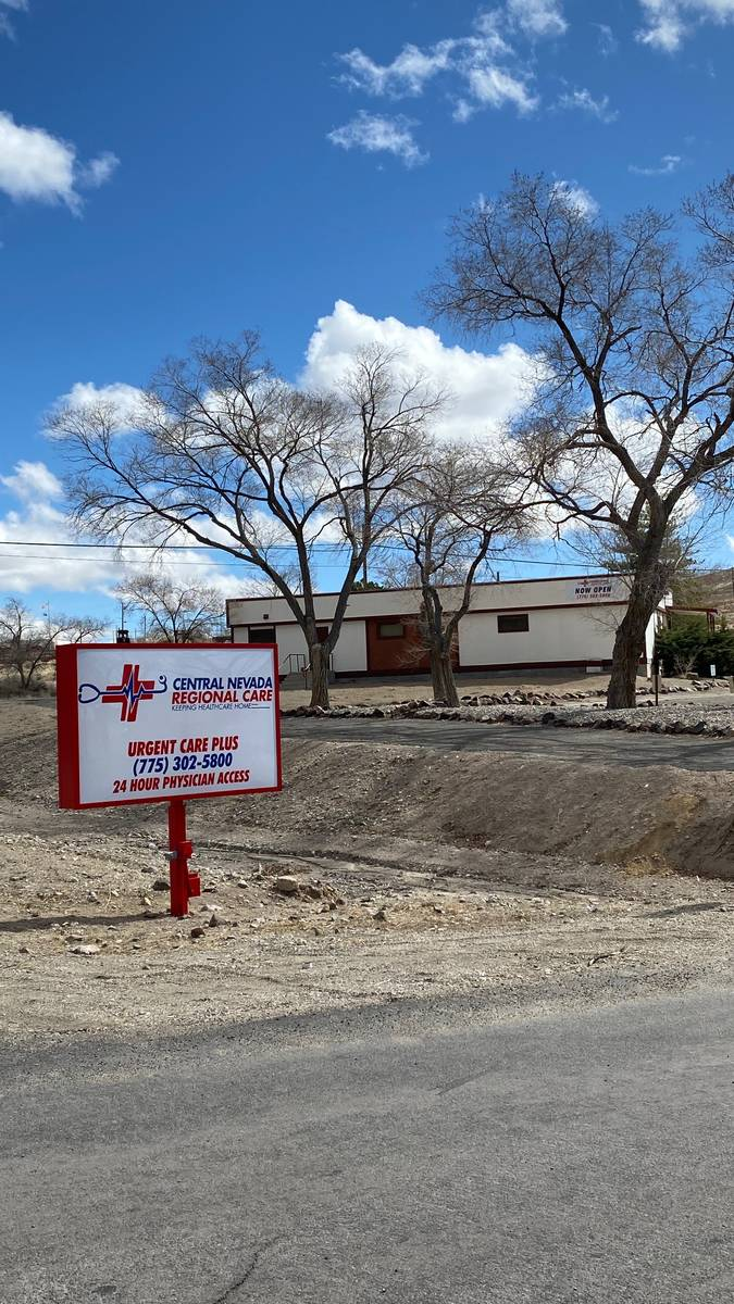 Special to the Pahrump Valley Times The improvements to the facility include isolation and dec ...