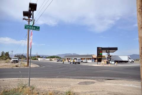 Horace Langford Jr./Pahrump Valley Times Taken Wednesday, June 3, this photo shows the intersec ...