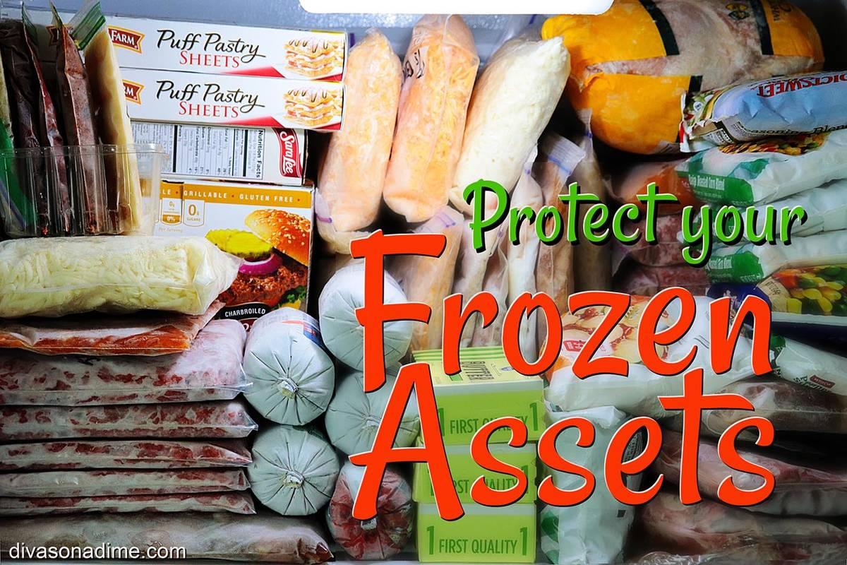 Patti Diamond/Special to the Pahrump Valley Times Use your freezer to its full potential. Freez ...