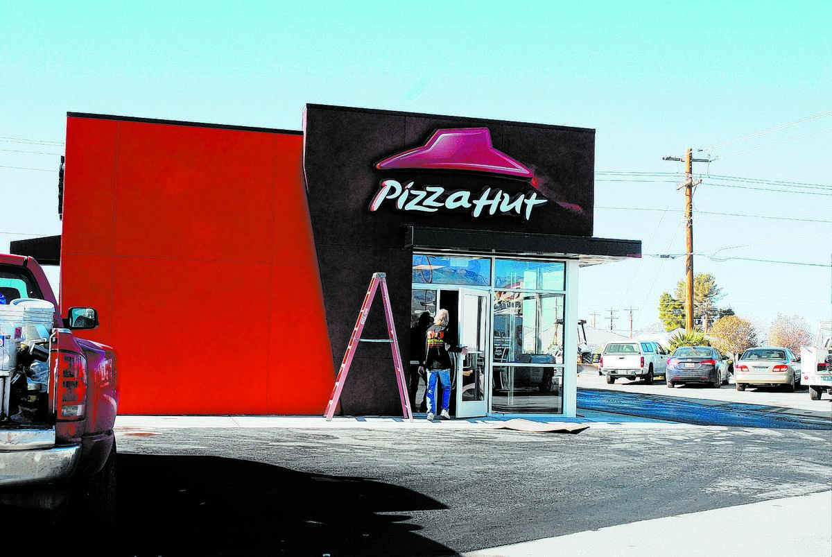 Horace Langford Jr. / Pahrump Valley Times Pizza Hut in Pahrump, received a new manager this s ...