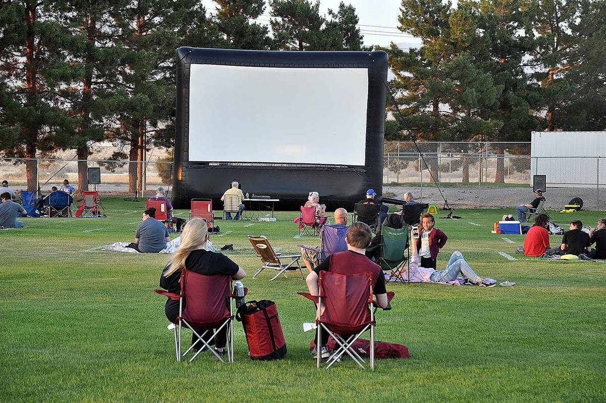 Horace Langford Jr./Pahrump Valley Times Taken Saturday, June 6, this photo shows attendees gat ...
