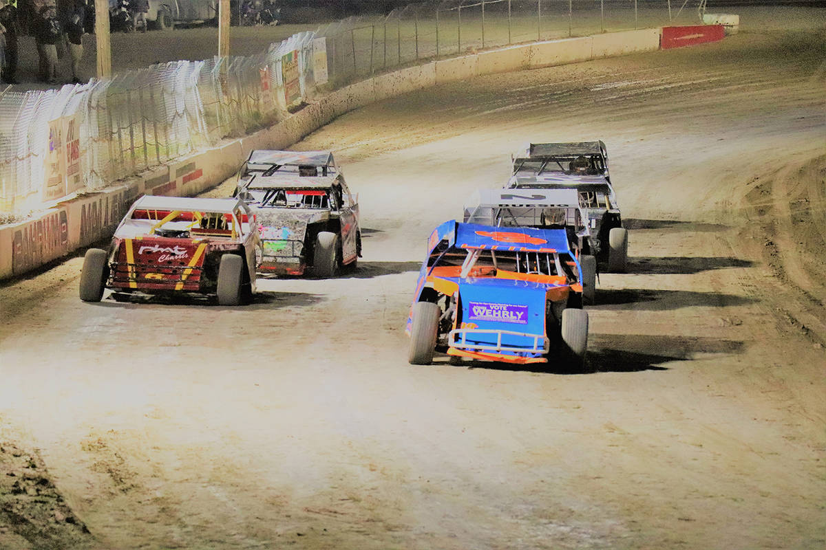 Digital Storm Photography/Special to the Pahrump Valley Times Sport Mods race Saturday night at ...