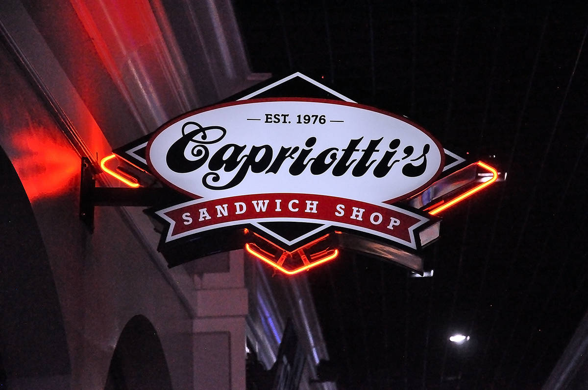Horace Langford Jr./Pahrump Valley Times On the issue of changes for the business, Capriotti's ...