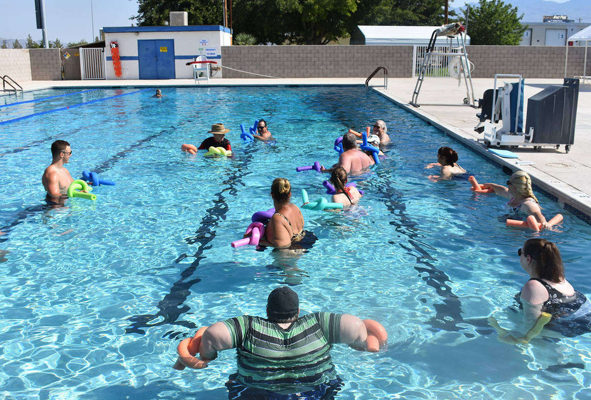 Daria Sokolova/Pahrump Valley Times In addition to recreational swimming, the Pahrump Communit ...