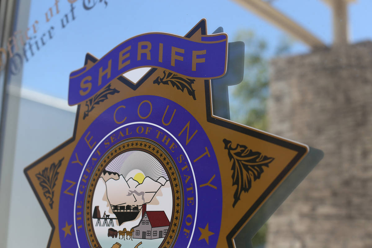 Rachel Aston/Las Vegas Review-Journal The Nye County Sheriff's office Wednesday, July 10, 2019.