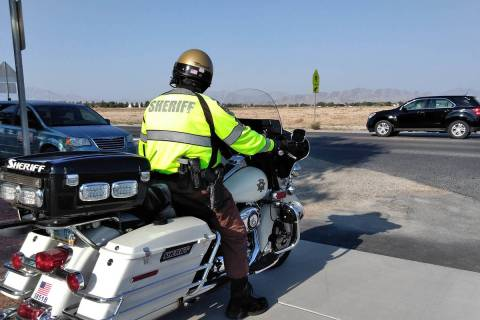 Selwyn Harris/Pahrump Valley Times The Nevada Highway Patrol is joining forces to increase high ...