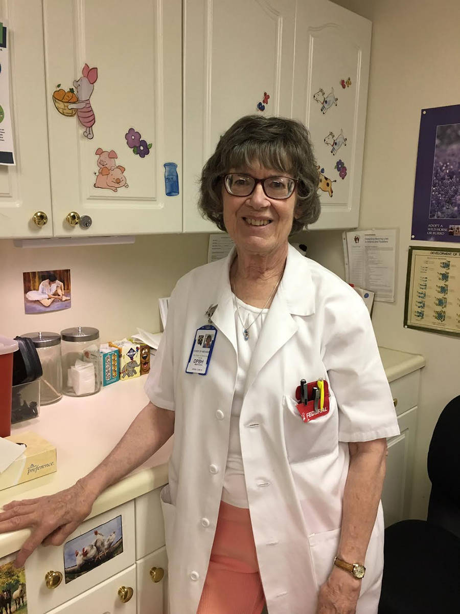 Special to the Tonopah Times Tonopah Community Health Nurse Beth Ennis is set to retire as of t ...