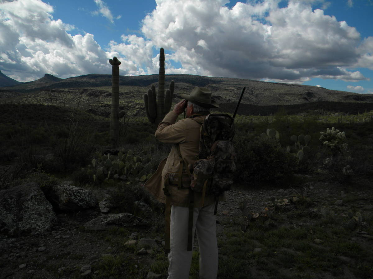 Special to the Pahrump Valley Times Optics are as important on some hunts as the rifle, especia ...