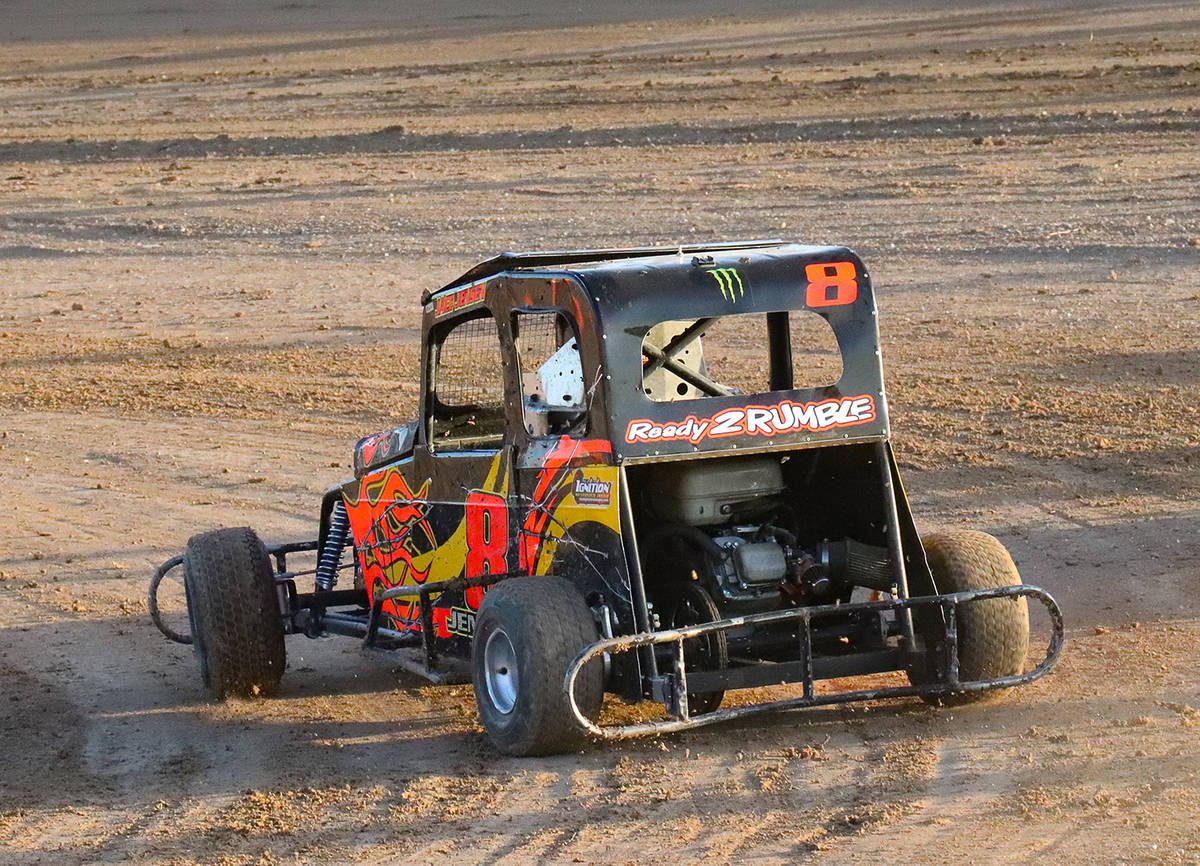 Digital Storm Photography/Special to the Pahrump Valley Times Jace Jensen in the No. 8 Mini Dwa ...