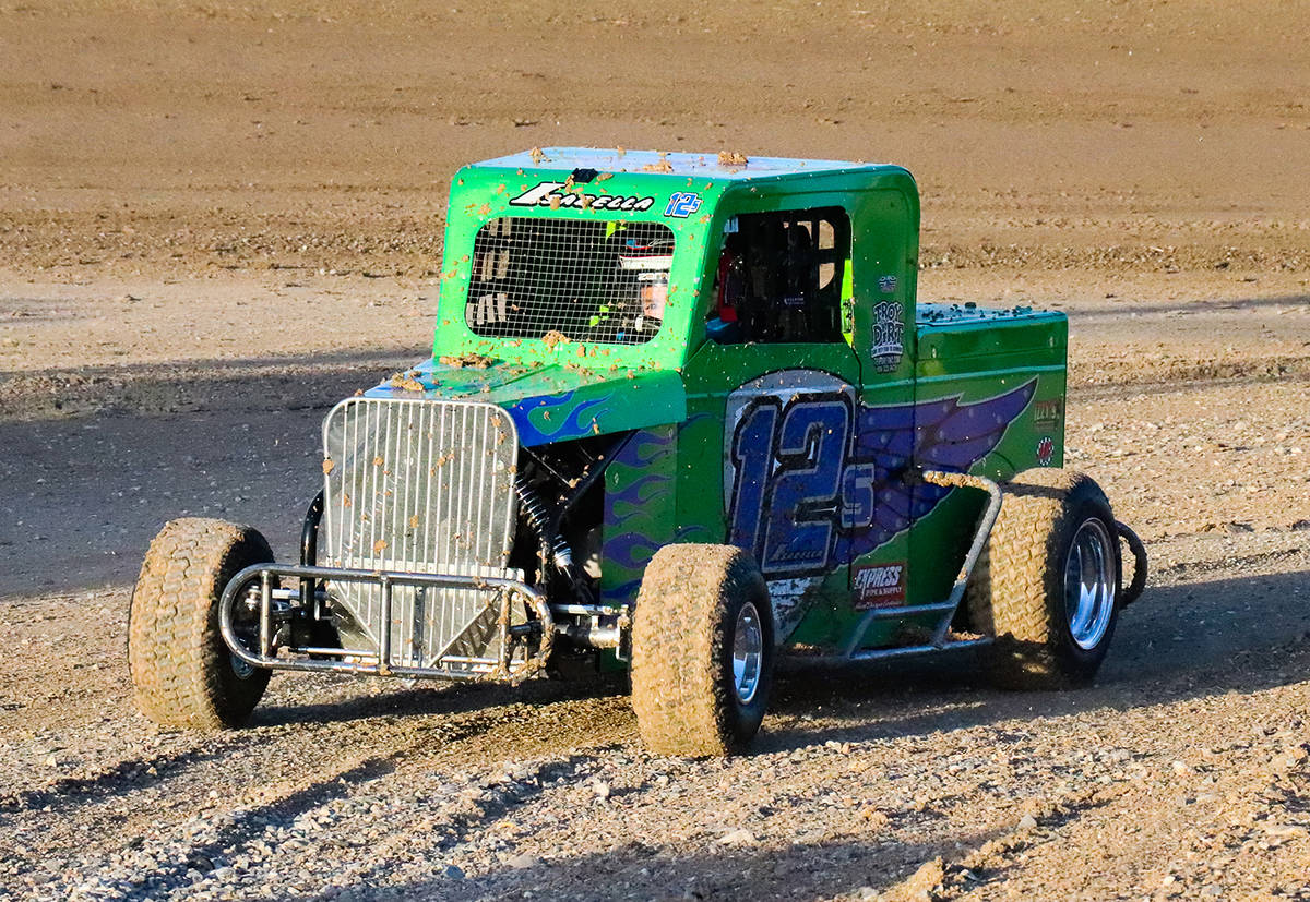Digital Storm Photography/Special to the Pahrump Valley Times Cody Isabella drives No. 125 duri ...