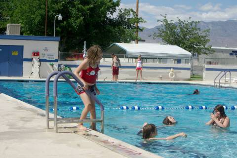 Horace Langford Jr. / Pahrump Valley Times The Pahrump Community Swimming Pool seen in this Fri ...