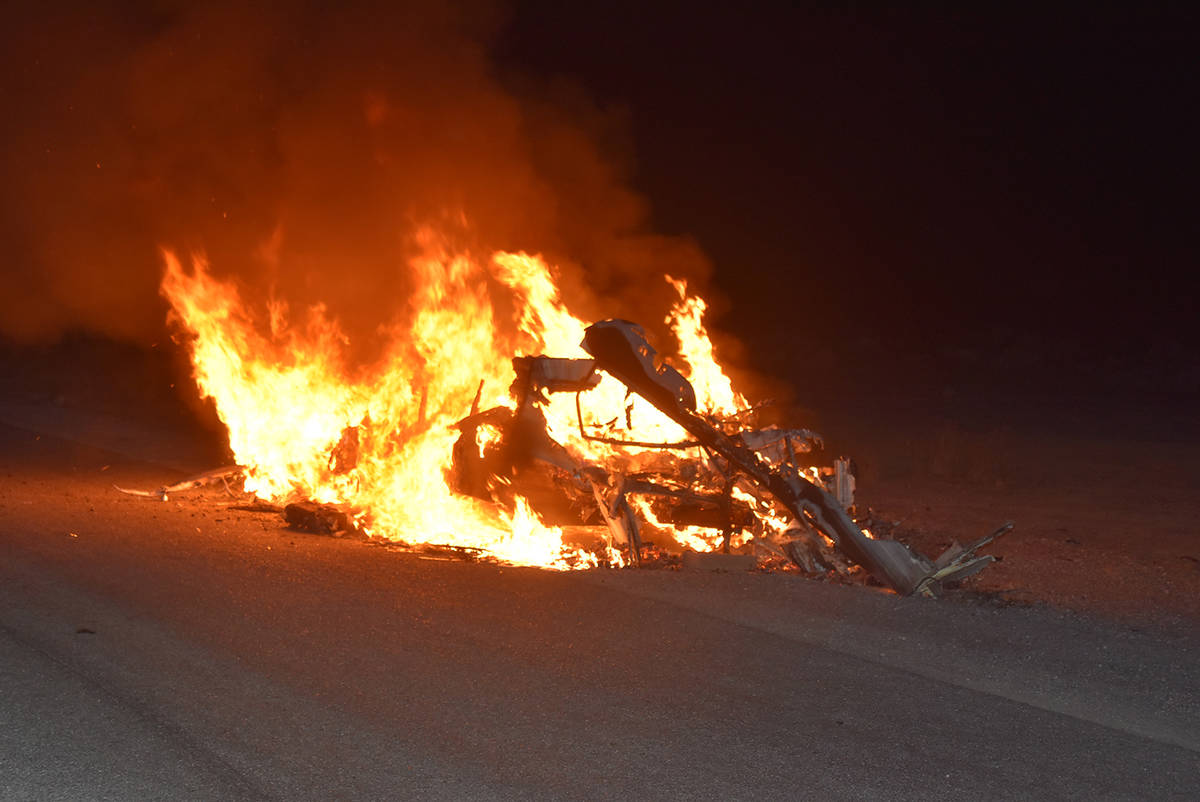 Special to the Pahrump Valley Times On Monday, July 6, Pahrump fire crews responded to a travel ...