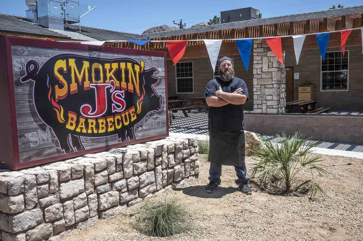 Richard Stephens/Special to the Pahrump Valley Times Jay Thompson, proprieter and grill master ...