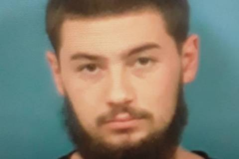 Special to the Pahrump Valley Times Nickolas Vonalst, 20, was arrested and charged with aiding ...
