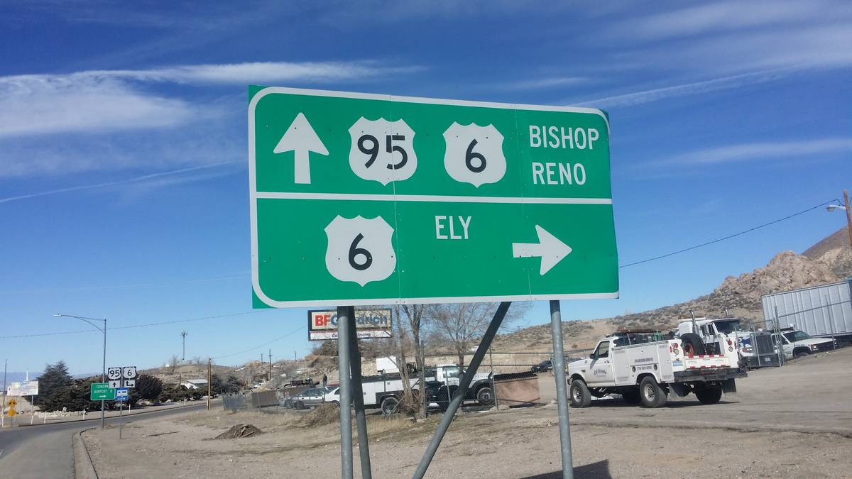 David Jacobs/Times-Bonanza Nevada benefits from having a higher percentage of rural roads than ...