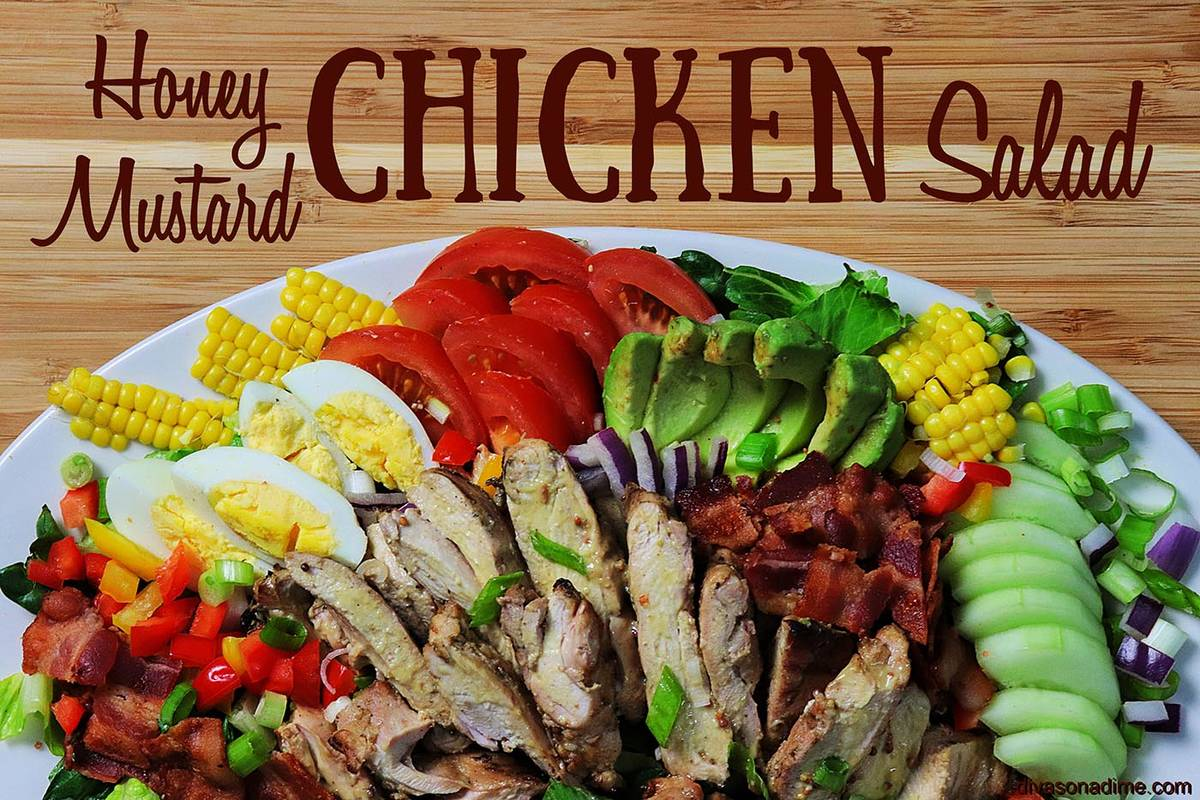 Patti Diamond/Special to the Pahrump Valley Times Salads are a great idea for summertime dinner ...