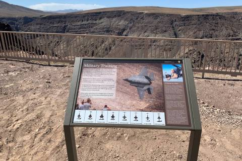 Death Valley National Park Service This wayside exhibit at the Father Crowley Vista Point educa ...