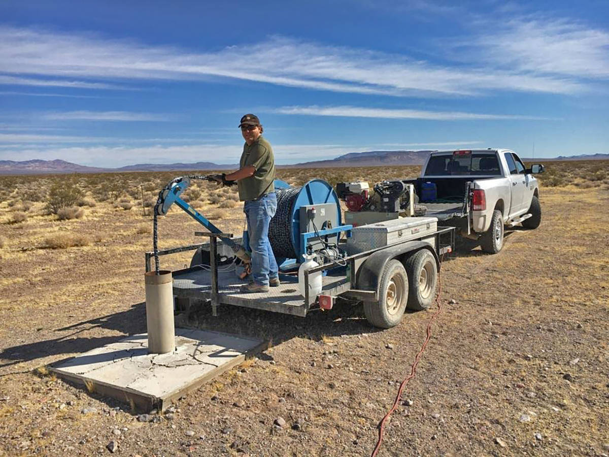 Special to the Pahrump Valley Times Water sampling over the last five years has shown there are ...