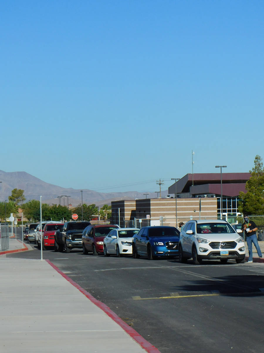 Robin Hebrock/Pahrump Valley Times The 2020 Back to School Fair saw plenty of traffic on August ...