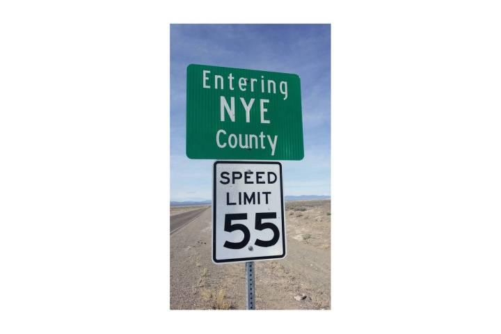 Pahrump Valley Times-file photo Nye County met only one of the criteria, averaging 168.8 tests ...
