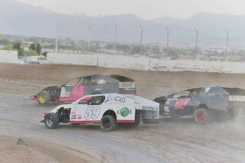 Digital Storm Photography/Special to the Pahrump Valley Times Brady Gladd (43), takes a turn in ...