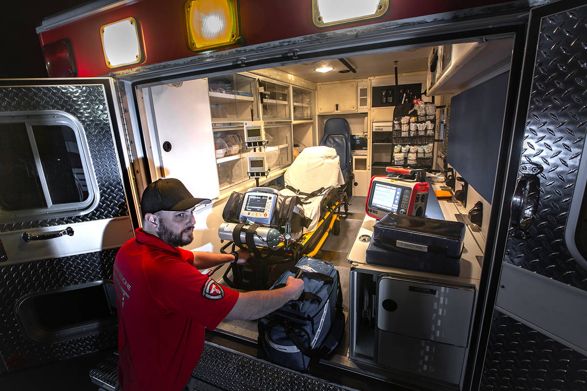 Special to the Pahrump Valley Times OptimuMedicine, LLC, has expanded its ambulance service int ...