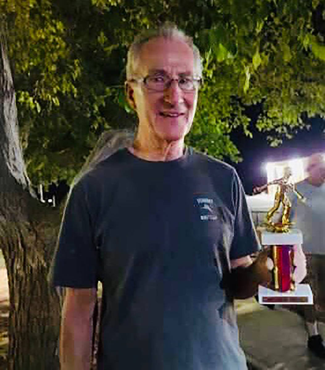 Kim Dilger/Special to the Pahrump Valley Times Dan Dunn won six games -- including four elimina ...